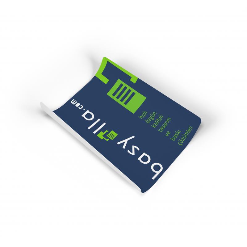 1. Hamur Sticker Etiket